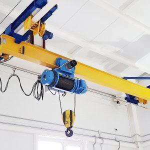 Кран-балки подвесные электрические